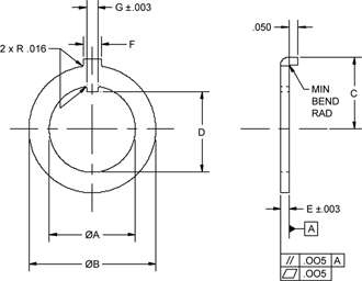 MS25081 CAD Drawing