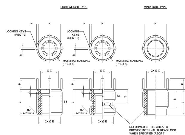 Ms51831 Mil Spec Hardware Specification Supplier Mil